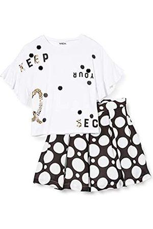 MEK Girl's Comp. T-Shirt + Gonna Pois Clothing Set