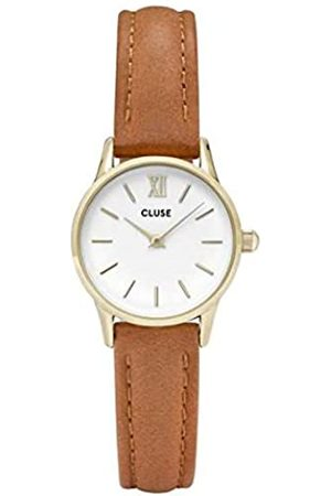 Cluse Womens Analogue Classic Quartz Watch with Leather Strap CL50022