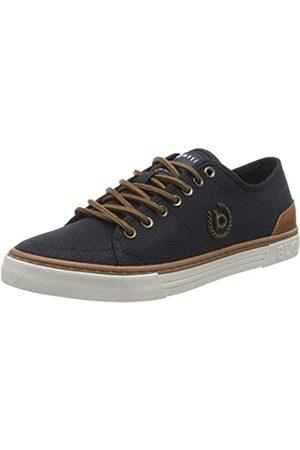 bugatti Men's 321720016950 Low-Top Sneakers, (Dark /Cognac 4163)