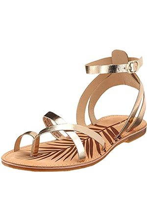 Pepe Jeans Women's March Basic Metal Gladiator Sandals, (Champagne 835)