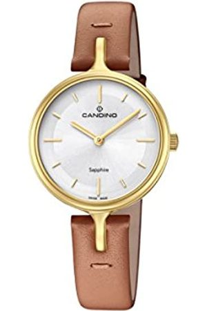 Candino Womens Analogue Classic Quartz Watch with Leather Strap C4649/1