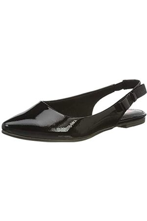 s.Oliver Women's 5-5-29400-24 Sling Back Heels, ( Patent 018)