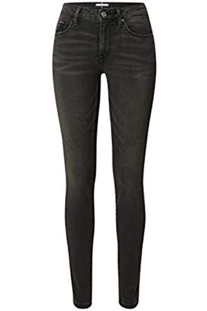 Tommy Hilfiger Women's Como Skinny RW Straight Jeans