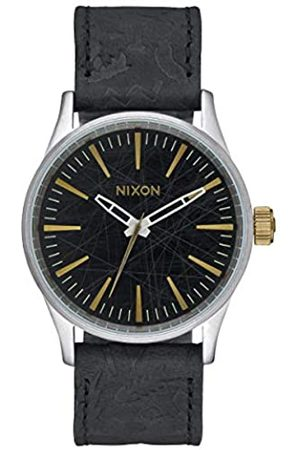 NIXON Unisex Watch Sentry 38 Analogue Quartz Leather A377 - 2222 00