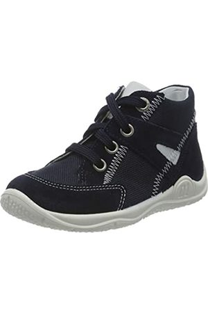 Superfit Baby Boys' Universe Trainers, (Blau/Weiss 80)