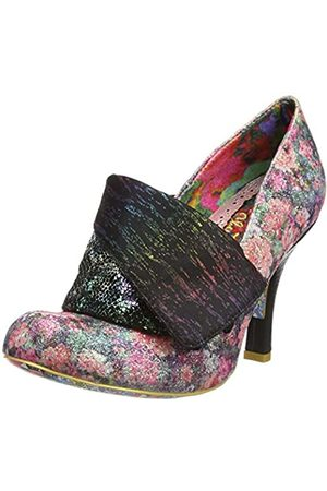 Irregular Choice Women's Flick Flack Closed Toe Heels, ( /Floral Multi Dm)