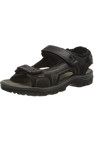 Rohde Men's Matera Ankle Strap Sandals, (Schwarz 90)