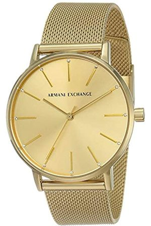 Armani Exchange Womens Quartz Watch with Stainless Steel Strap AX5536
