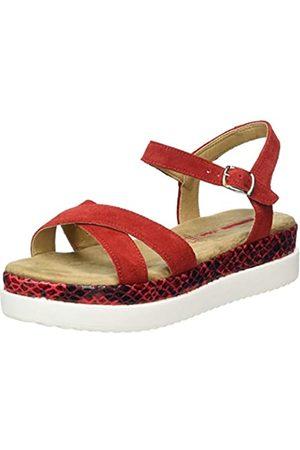 s.Oliver Women's 5-5-28201-24 Ankle Strap Sandals, ( /Snake 507)