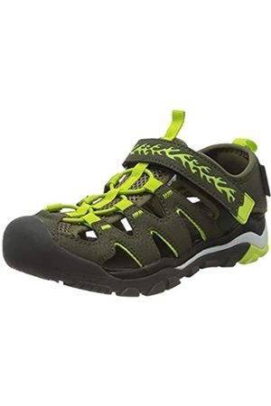 Dockers by Gerli Unisex Kids' 46mt605-637858 Low-Top Sneakers, (Khaki/Grün 858)