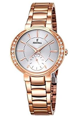 Festina MADEMOISELLE Women's Quartz Watch with Dial Analogue Display and Rose Stainless Steel Rose Plated Bracelet F16911/1