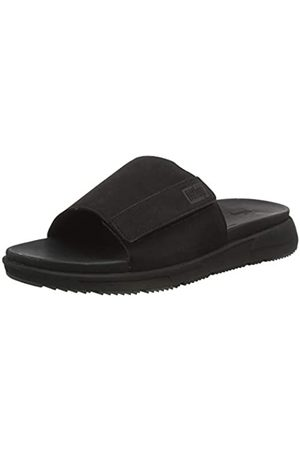 FitFlop Men's Sporty Slides Flip Flops, (All 090)