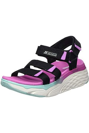 Skechers Women's MAX Cushioning Sling Back Sandals, ( /Multi Textile Bkmt)