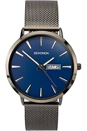 Sekonda Mens Analogue Classic Quartz Watch with Stainless Steel Strap 1728