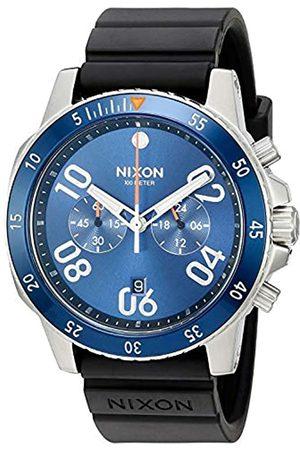 NIXON Mens Chronograph Quartz Watch with Rubber Strap A9581258
