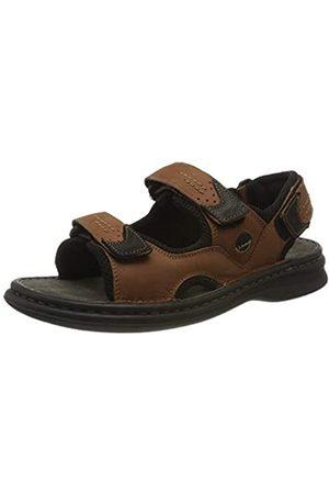 Josef Seibel Men's Franklin Ankle Strap Sandals, (Castagno-Kombi 751 351)