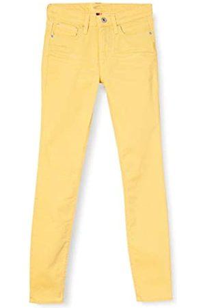 Camel Active Womenswear Women's 5-Pocket Slim Jeans, 60