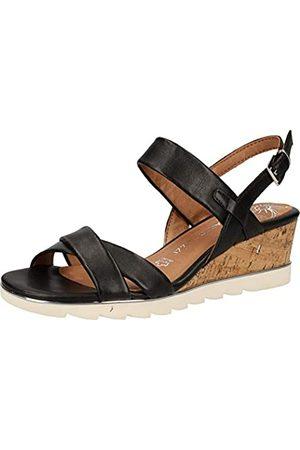 Marco Tozzi Women's 2-2-28724-24 Ankle Strap Sandals, ( 001)