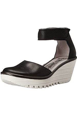 Fly London Women Yand709Fly Ankle Strap Wedges, ( /Off White 000)