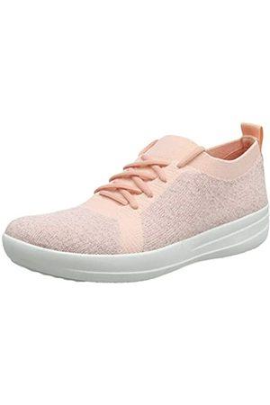 FitFlop Women's Uberknit F-Sporty Sneaker Trainers, (Ss20 Coral 807)