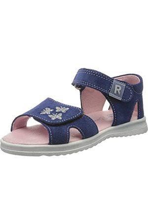Richter Kinderschuhe Girls' Lilly Ankle Strap Sandals, (Nautical 6820)