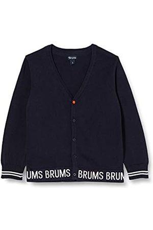 Brums Baby Boys' Cardigan Tricot Scritta Jacquard