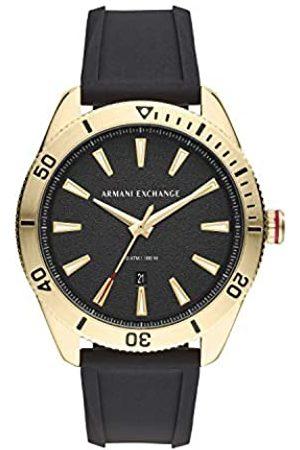 Armani Men's Quartz Watch with Silicone Strap AX1828