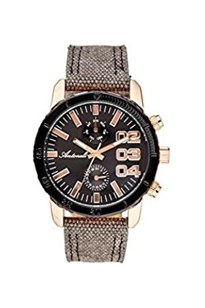 Antoneli Unisex-Adult Analogue Classic Quartz Watch with Stainless Steel Strap AL9785-04