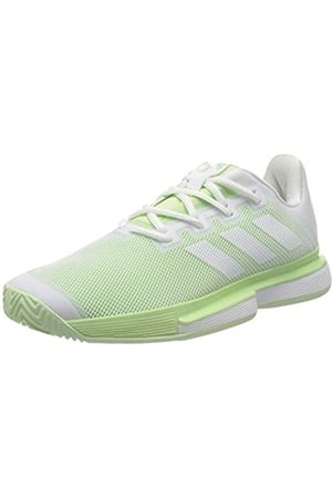 adidas Women's Sole Match Bounce Allcourtschuh Damen - Hellgrün, Weiß Tennis Shoes