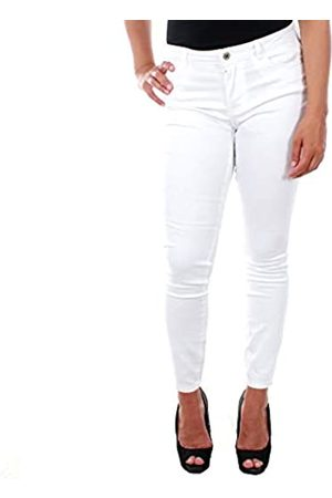Vero Moda Women's Vmjulia Flex It Mr Slim Jegging Color Jeans