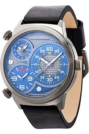 Police Men's Quartz Watch with Dial Analogue Display and Leather Strap 14542JSU/13