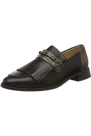 SCOTCH & SODA FOOTWEAR Women's LOEL Loafers, ( Snake Optic S093)