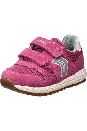Geox Baby Girls' B ALBEN Low-Top Sneakers, (Fuchsia C8002)