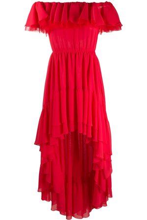 Giamba Off-shoulder asymmetric dress