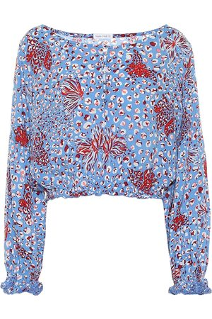 POUPETTE ST BARTH Exclusive to Mytheresa – Betty floral crêpe de chine top