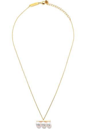 TASAKI 18kt yellow Balance Neo Akoya pearl pendant