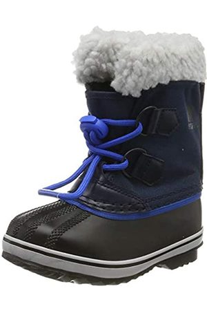 sorel Unisex Kid's Childrens Yoot PAC Nylon Snow Boot, Collegiate Navy, Super