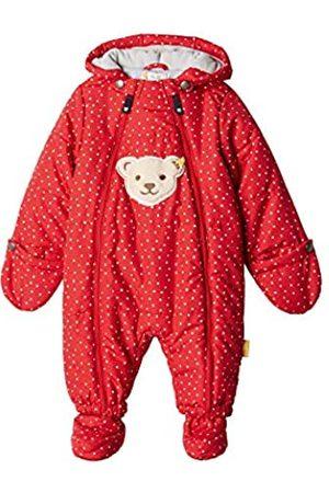 Steiff Baby Girls' Snow Overall Snowsuit, (Tango 4008)