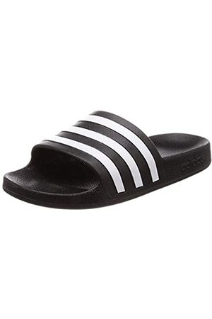 adidas Unisex Adults' Adilette Aqua Beach & Pool Shoes, (Negro 000)