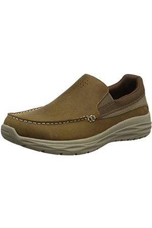 Skechers Men's Harsen-Ortego-BLK Loafers, (Desert Dsrt)