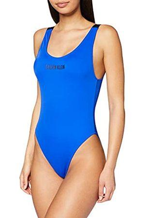 Calvin Klein Women's Scoop One Piece-rp Bikini Top