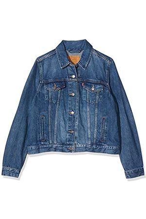 Levi's Women's Original Trucker Denim Jacket, (Montgomery Baked 0074)