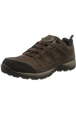 Columbia Men's Redmond V2 LTR WP Low Rise Hiking Boots, (Cordovan, Beet)