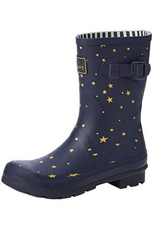 Joules Women's Molly Welly Wellington Boots, (Star Gazing Stargaze)