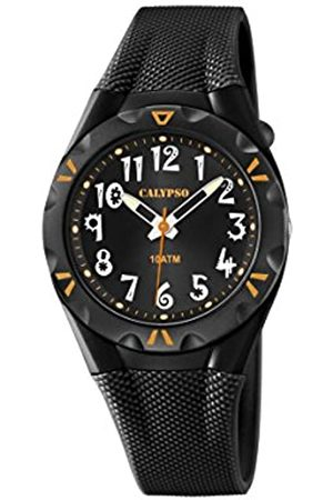 Calypso Unisex Quartz Watch with Dial Analogue Display and Plastic Strap K6064/6