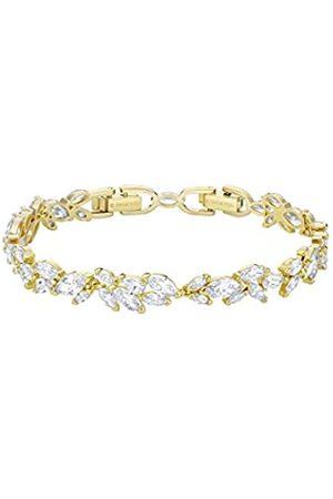 Swarovski Women's Gold-Tone Plated Crystal Louison Bracelet 5505863