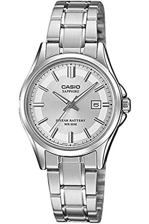 Casio Womens Analogue Quartz Watch with Stainless Steel Strap LTS-100D-7AVEF