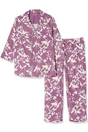 Schiesser Women's Pyjama 7/8 Lang, 3/4 Arm Set