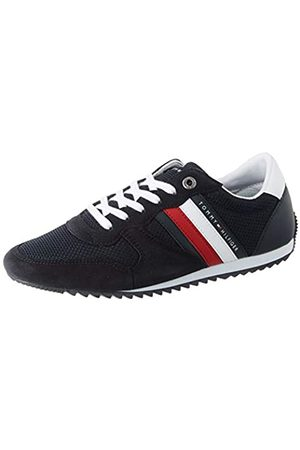 Tommy Hilfiger Men's Essential Mesh Runner Low-Top Sneakers, (Desert Sky Dw5)