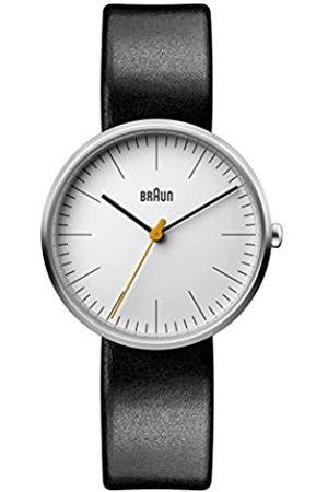 Braun Womens Analogue Classic Quartz Watch with Leather Strap BN0173WHBKL